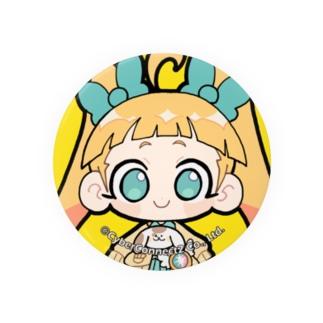 CC2女子部缶バッジ みにたっしー Badge