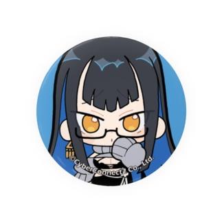 CC2女子部缶バッジ みにいけぴ Badge