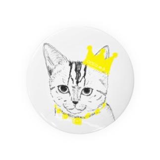 猫の王様 Badges