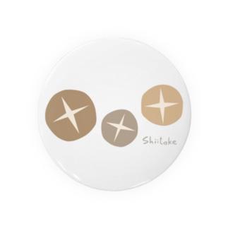 しいたけ〜Shiitake〜 Badges