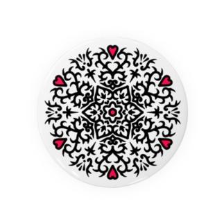 幾何学模様18 Badges