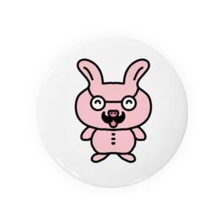 おじさんウサギ Badges