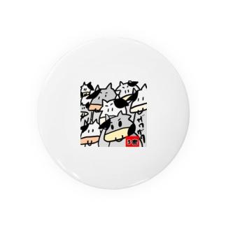 3密の牛 Badges