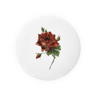 manmonjijiの一輪の薔薇 Badges