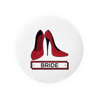 ペア(BRIDE)ヒール_レッド Badges