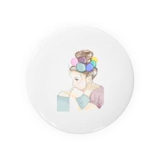 mi_ki_monのバルーン少女 Badges