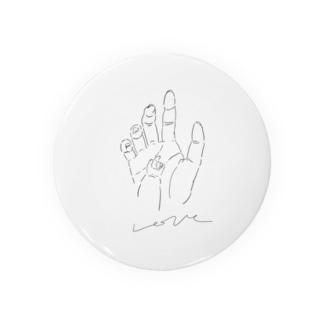 愛の手 Badges