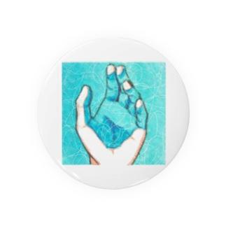 水面と手 Badges
