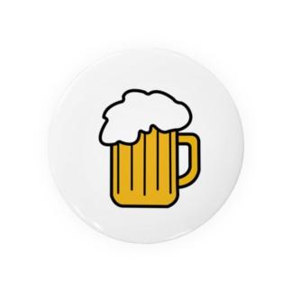 ビール Badges