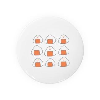 Orange rice ball boy  Badges