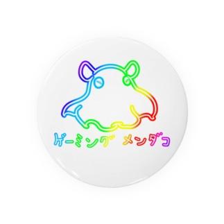 鮫処 祭のゲーミング メンダコ(発光風無し) Badges