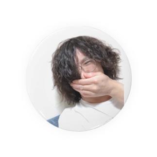 酔っ払いの自撮り写メで作ったアイテム Badges