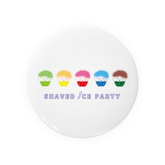 SHAVED ICE PARTY Badges