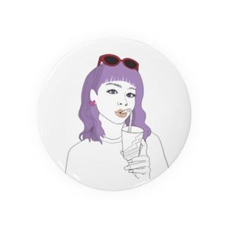 nemunemu_zakiのポップガール Badges