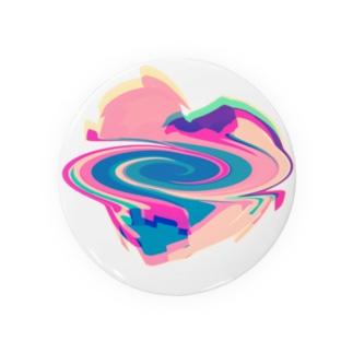 カヨ◝(⑅•ᴗ•⑅)◜..°♡の手のひらくるくるハート Badges