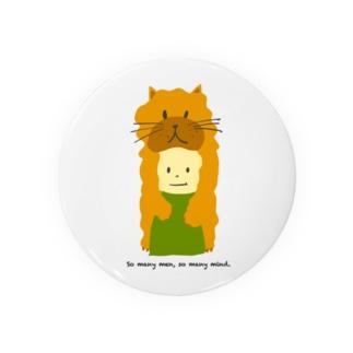 ネコ坊や Badges