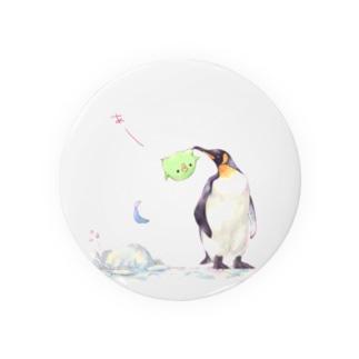 キングペンギンとまめ。 Badges