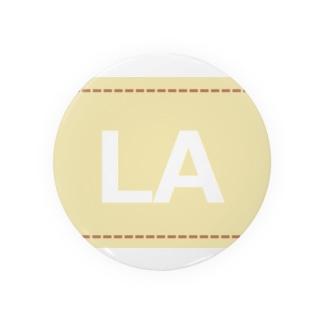 アメリカンベースのLA Badges