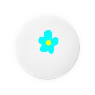yuukanoaの花柄爽やか Badges