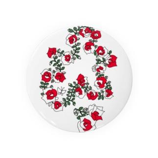 KAERUCAFE SHOPのバラ Badges