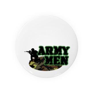 アーミーメン Badges