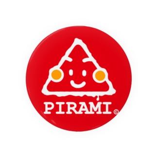 ぽんず すたじおのピラミちゃんロゴ Badges