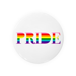 PRIDE レインボー Badges