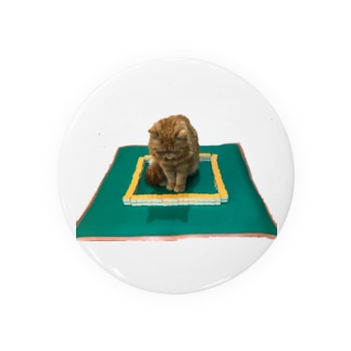 麻雀の中心でネコがさけぶ Badges