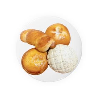 焼き立てパン4種 Badges