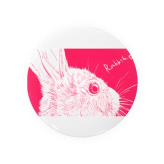 Antcreateのぴんく兔 Badges