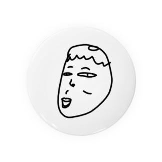 タナカの顔面蒼白きくやん Badges