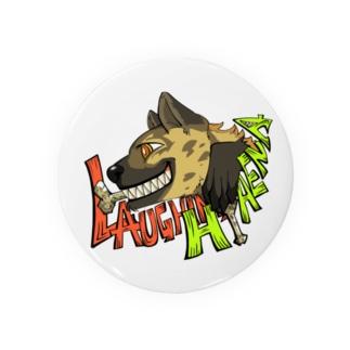 LAUGHING HYENA Badges