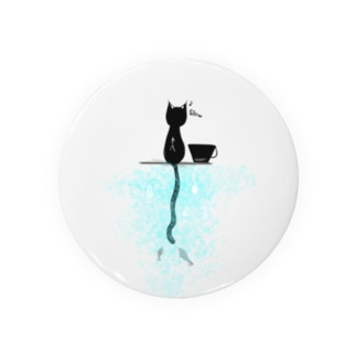 しっぽの長い猫 Badges