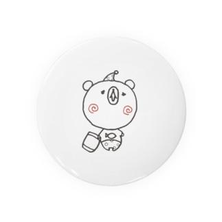眠りの森のクマさん Badges