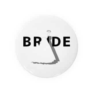 ペア(BRIDE)ドレス_白_WB Badges