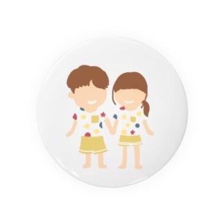 カップル Badges