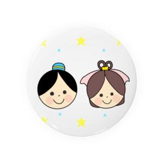 Yuuオリジナルイラスト27 彦星と織姫 Badges