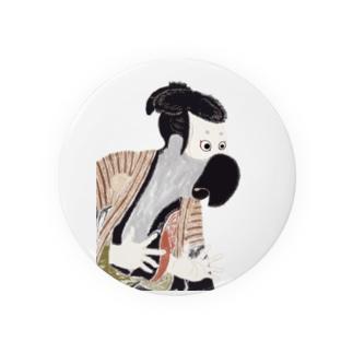 ヨウム 浮世絵 Badges