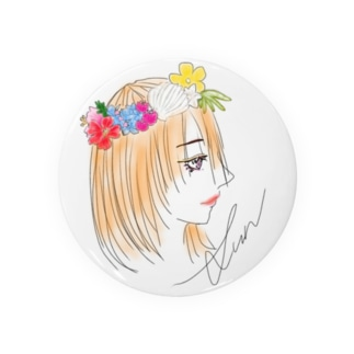 Flower crown Badges