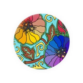 Flower Case Badges
