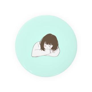 うたた寝の女の子 Badges