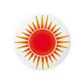 真っ赤に燃える太陽 Badges