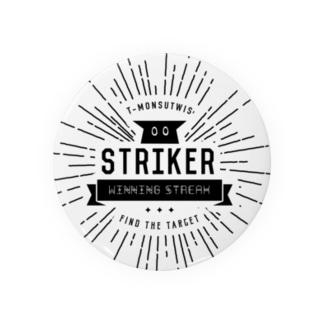 STRIKER(黒) Badges