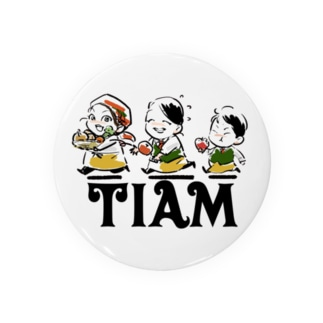 tiamスタッフロゴ Badges