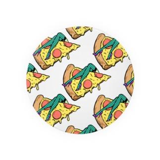 欲望のピザ🍕 GUILTY PLEASURE PIZZA AO TRANSPARENCY Badge
