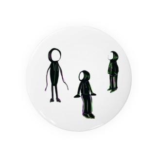 3人組は売れる Badges