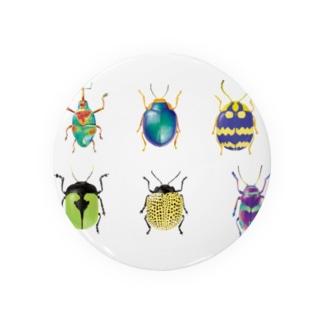昆虫シリーズ Badges