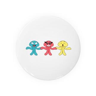 宇宙人 Badges
