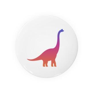 グラデーションダイナソー(プラキオザウルス) Badges