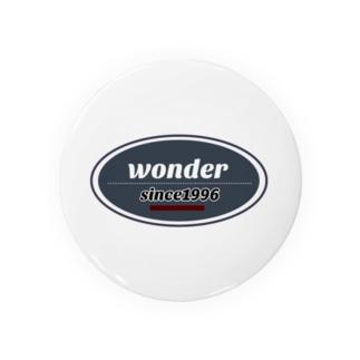 wonderオリジナルロゴNEW Badges